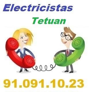 Telefono de la empresa electricistas Tetuan